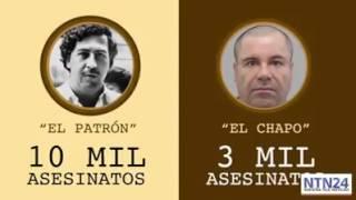 Analisis completo del PATRON Pablo Escobar Vs El Chapo Guzman