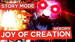 ATENTIE, FOARTE HORROR! The Joy of Creation Reborn : Story!