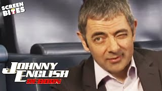 Johnny English Reborn: Behind the scenes of the wheelchair chase (ft Rowan Atkinson