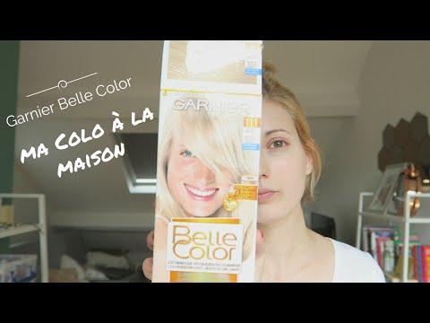 download je fais ma coloration la maison garnier belle color super claircissant 111 on - Coloration Eclaircissante Blond