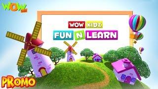"""Learning is fun with """"Wow Kidz Fun N Learn"""""""