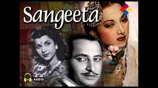 Kahin Dekh Akeli | Sangeeta 1950 | Lata Mangeshkar | Suraiya.