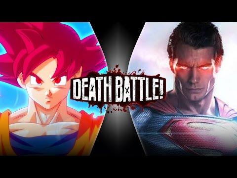 Goku VS Superman 2 DEATH BATTLE