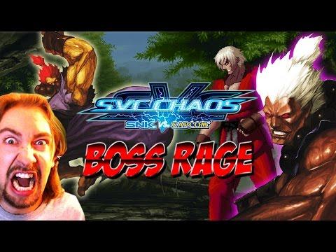 BOSS RAGE Featuring Shin Akuma & Violent Ken SNK Vs Capcom Chaos
