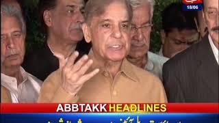 AbbTakk Headlines – 06 AM – 18 June 2019