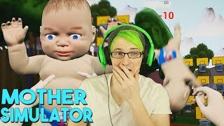 PLAYING BASKETBALL WITH MY BABY! | Mother Simulator