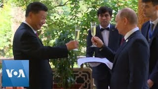 Putin Wishes Xi Happy Birthday, Gives Box of Ice Cream as Present