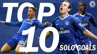 Top 10 Solo Goals In Blue   Chelsea Tops