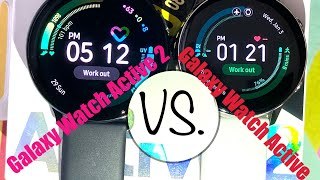 Galaxy Watch Active 2 vs Galaxy Watch Active - Side By Side Comparison
