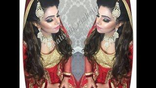Asian Bridal Glitter Makeup