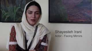 IFFA 2012 - Shayesteh Irani (Actor- Facing Mirrors) - welcome note