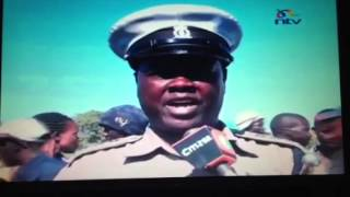 Kenyan cops funny explanation