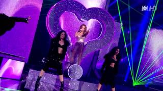 Jlo's Reign - Jennifer Lopez - On The Floor - Live X Factor France - HD