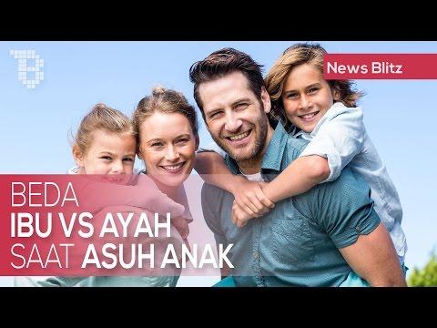 Beda Ibu vs Ayah Saat Asuh Anak