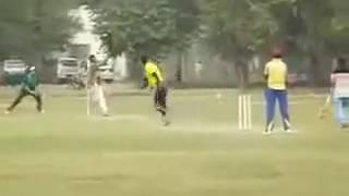The greatest tape ball player shahbaz 36 runs on 6