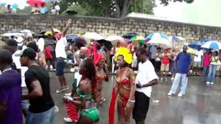 women taking off all their clothing naked in the streets  (2011) drinking and dancing like they are
