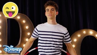 Hula Hoop Challenge | Cameron Boyce | Official Disney Channel UK
