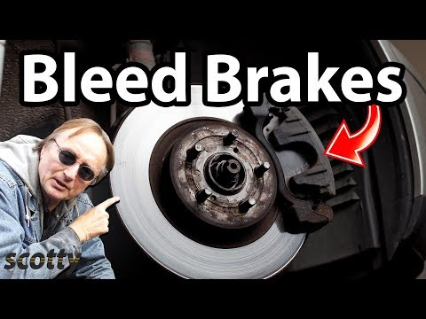 How To Bleed Air Out Of Your Car's Brake System.