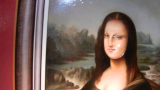 3D Mona Lisa at Alive Museum - Seoul Tower
