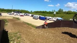 Motocross træning i MX Hedeland