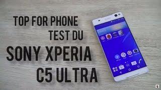 SONY XPERIA C5 ULTRA - le selfiephone borderless !