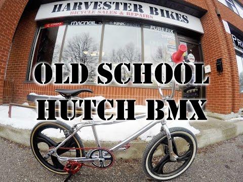 1989 Hutch Windstyler Old School 80's Custom BMX Restoration @ Harvester Bikes