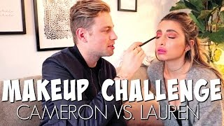 MAKEUP CHALLENGE GONE WRONG ft. Lauren Elizabeth