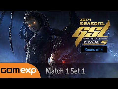 Download Code S Ro4 Match 1 Set 1, 2014 GSL Season 1 - Starcraft 2 HD Mp4 3GP Video and MP3