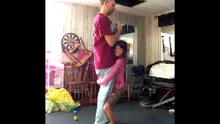WORLDS STRONGEST GIRL 8 years old lifts 177 lb dad