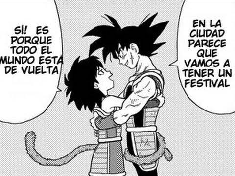 LA MADRE DE GOKU GINE MANGA OFICIAL Dragon Ball minus