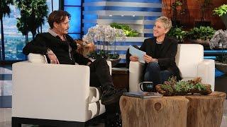 Ellen Puts Johnny Depp in the Hot Seat