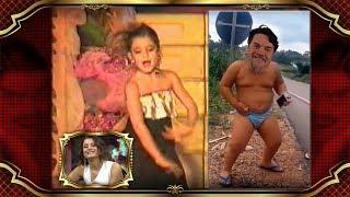 Beyaz Show- Beyaz ve Atiye'nin çocukluk videoları çok konuşulacak!