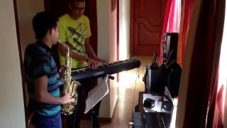 Victor Saxo y Misael Piano