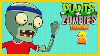 Plantas vs zombies toon animado Capitulo 2 ☀️Animación 2017☀️PARODIA