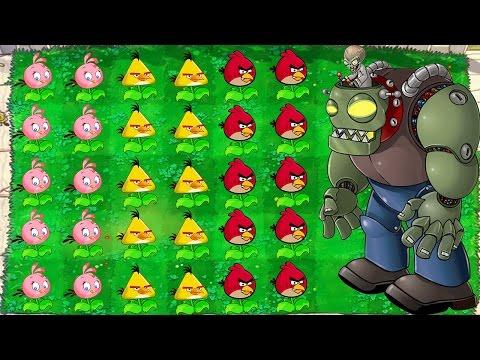 Plants vs. Zombies MOD ANGRY-BIRDS