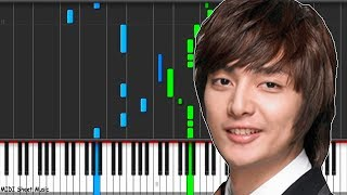 Boys Over Flowers - Fight The Bad Feeling Piano midi