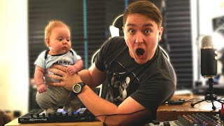 MAKING MUSIC WITH A LIVE BABY! *never been done before