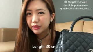 b4db8c3b62c3 Chanel Unboxing  Coco Handle Flap Bag and Chanel Boy Goat Hair ...