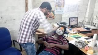 Sarathi Baba Funny Video (Funny Makup)