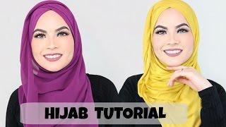 HIJAB TUTORIAL Everyday simple style