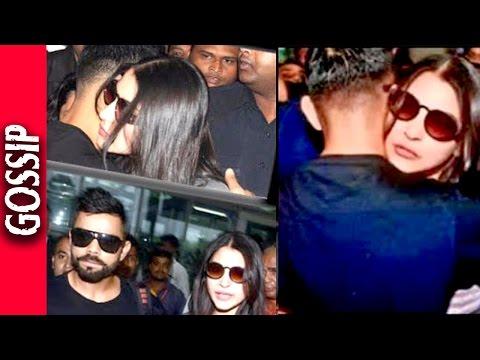 Virat Kohli Hugged Anushka Sharma - kissing & Hugging - Bollywood Gossip 2016
