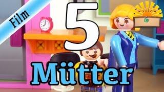5 ARTEN von MÜTTERN! Playmobil Film deutsch | Mama