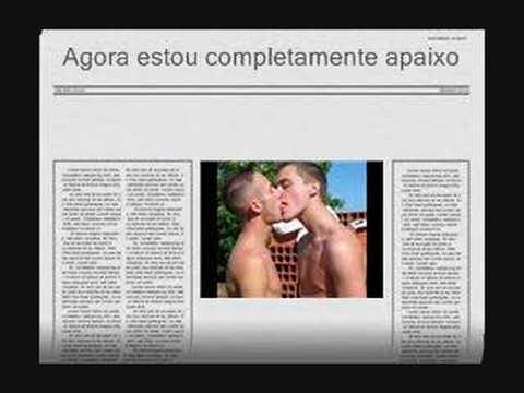 Luis te amo gay kiss.