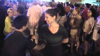 Amazing Kid 13 Years Old Dancing Salsa Social