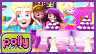 Polly Pocket full episodes | Battle of Cupcake  - New Season Compilation | Kids Movies | Girls Movie