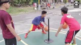 HYPE STREETBALL CLINIC  -  Lil Flash Speed Handles