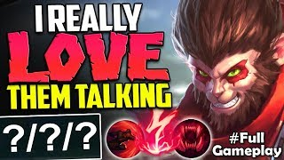 I REALLY LOVE THEM TALKING | TRUE TEAMWORK | Wukong vs Tryndamere TOP | NA Unranked to Diamond #53