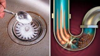 How To Unclog a Kitchen Sink Drain (Fast and Cheap Method)