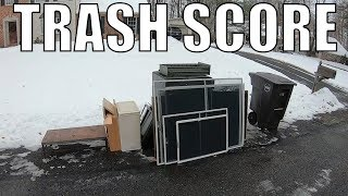 TRASH Picking for Free Treasures Left On The Curb - Trash Picking Ep. 113