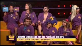 """Yamila Piñero impresionó a todos con el playback """"La tetita"""""""